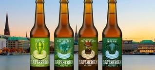 Bier-Journalismus: Ratsherrn Brauerei hat mit ihrem New Era Pilsener einiges vor