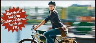 BILD erklärt, warum E-Biker immer lächeln