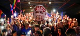 Kaczynskis weiße Weste bekommt erste Flecken