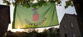 Neonazi-Festival in Sachsen: Sturzbetrunken zu Hitlers Geburtstag