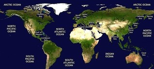 Some Myths and Facts about Number of Seas in the World