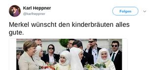 """""""Dieses Bild würde Merkel am liebsten verbieten lassen!"""""""
