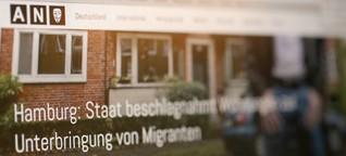 Nein, in Hamburg werden keine Wohnungsbesitzer für Flüchtlinge enteignet