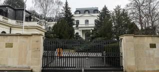 Ist Russlands Botschaft in Tschechien Basis für Geheimdienstoperationen?