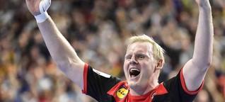 Handballer Wiencek ist Deutschlands sanfter Mann fürs Grobe