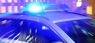 Polizist schießt mit Maschinenpistole auf Fluchtwagen