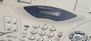 Unterschätzte Technik: Wer braucht heute eigentlich noch das Fax? | BR.de