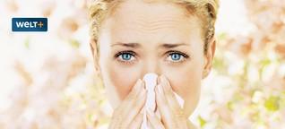 Warum Allergiker jetzt schon von Heuschnupfen geplagt sind