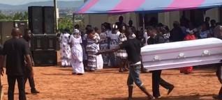 Die Party deines Lebens: Auf Beerdigungen in Ghana