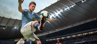 Fifa 19 und PES 2019 im Test: Knapper Punktsieg für EA Sports - Golem.de
