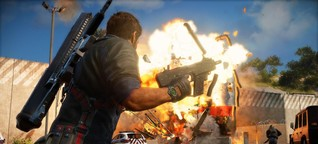 """Test: """"Just Cause 3"""" ist ein Spiel gewordener Actionfilm - WELT"""