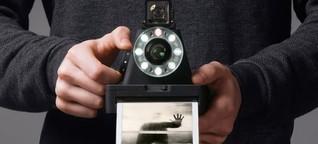Diese Kamera macht Polaroids und ist trotzdem Hightech - WIRED