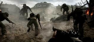 """Call of Duty: WW2"" im Test: Zurück nach Omaha Beach - SPIEGEL"