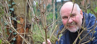 Jochen Bloch kämpft für den Erhalt der Bäume