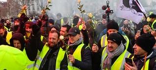 """""""Gelbwesten""""-Proteste: Viele erfolgreiche Fakes"""