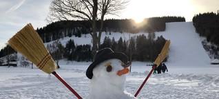 Welttag des Schneemanns I Landesschau BW