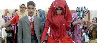 Zwangsehe: Eine von fünf Bräuten im Irak ist noch ein Kind - WELT