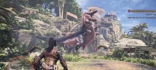 """""""Monster Hunter: World"""" im Test: Schwerter schwingen, Giganten erlegen - SPIEGEL ONLINE - Netzwelt"""