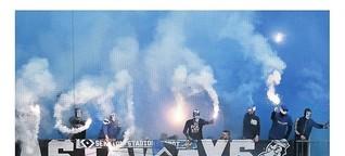 Wie es Ultras weiter gelingt, mit Pyrotechnik zu provozieren
