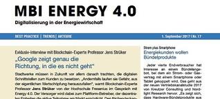 MBI Energy 4.0 - Ausgabe 17/2017