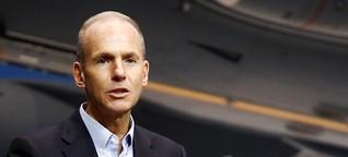 Boeing-Chef Muilenburg: Hoffnungsträger unter Druck