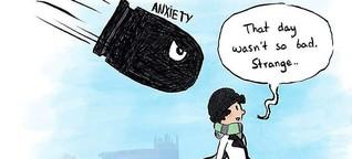 Diese Illustrationen zeigen, wie sich Depressionen anfühlen können