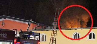 Brand in Sachsen: Hier steht ein Kinderzimmer lichterloh in Flammen!