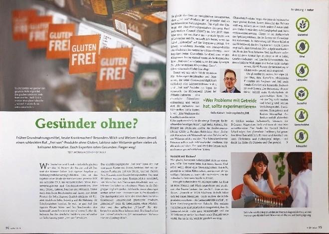 """""""Frei von""""-Produkte"""