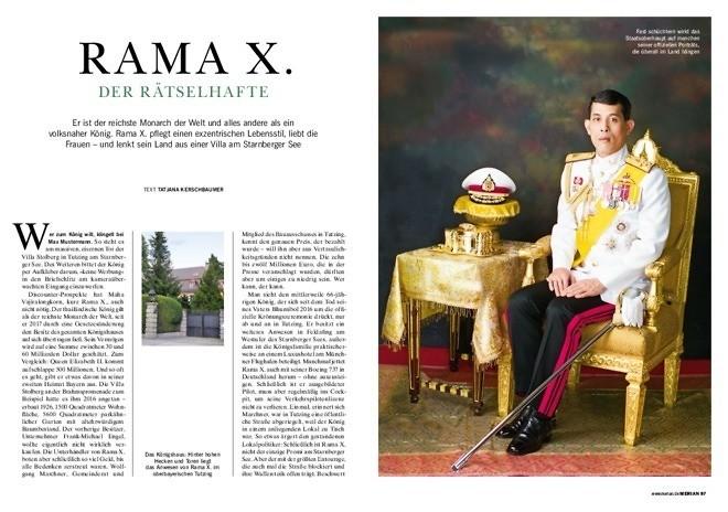 Rama X. - Der Rätselhafte