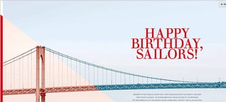 Happy Birthday, Sailors!