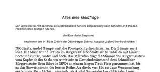 Gebietsreform in Thüringen: Eine Geldfrage