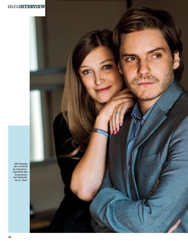 """Brühl / Lara: """"Hollywood-Stars werden nervös, wenn Sie uns begegnen"""""""