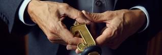 Der Mann in der Schlüsselposition