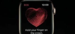 Apple Watch mit EKG: Was sie kann und was nicht