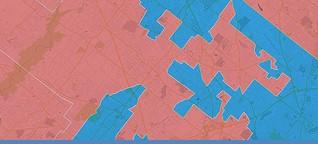 """""""Kreative"""" Grenzen für US-Wahlkreise"""