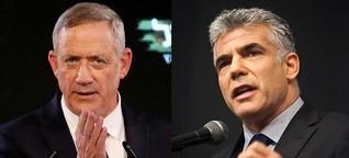 Netanjahus Rivalen schließen sich zusammen