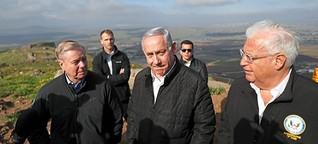 Die Golanhöhen als Wahlkampf-Politikum