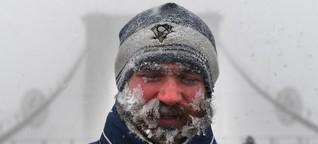 Wenn der Atem gefriert: Kältewelle in den USA