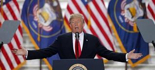 Narzissmus und Trump: Großes Ego, nichts dahinter?