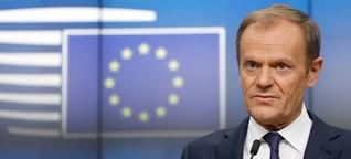 """Donald Tusk: """"Etwas wie die Vereinigten Staaten von Europa wird es nicht geben"""""""