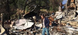 Flammen, Trümmer und Bürokratie in Kalifornien