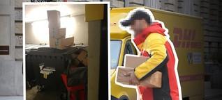 DHL-Bote packt aus: Deshalb landen Post-Pakete im Müll