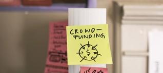 Erstmals über eine halbe Milliarde in Crowdfunding gesammelt