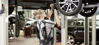 Wie Exoskelette körperliche Arbeit gesünder machen sollen