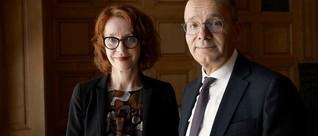 Die Zukunft Europas: Ulrike Guérot und KfW-CEO Günther Bräunig