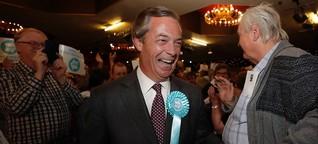 Europa vor der Wahl: Die Stunde des Mr Brexit