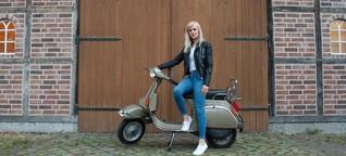 Vespa PK 80: Claudia und das goldene Biest - SPIEGEL ONLINE - Mobilität