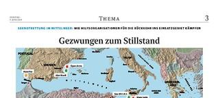Seenotrettung im Mittelmeer: Gezwungen zum Stillstand