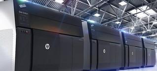 3D-Drucker von HP: Ein Drucker, aus dem Autoteile kommen