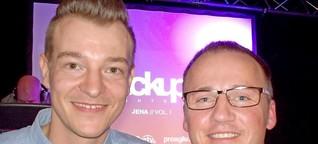 Firmengründer berichten in Jena von schrägen Ideen und auch von Pleiten